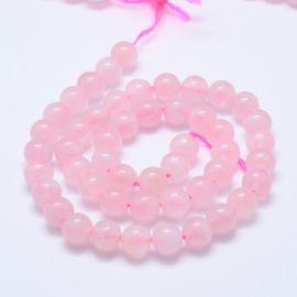 Natural Malagasy Pink Quartz Beads 10.5 mm 1 strand