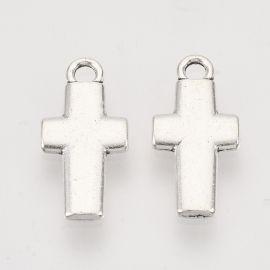"Pendant ""Cross"" 10 pcs., 18.5x8.5x1.5 mm, 1 bag"
