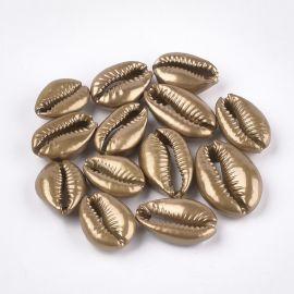 SHELL kriauklės 2 vnt., 20-28x14-20x7-8 mm, 1 maišelis