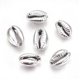 Metallized shell 2 pcs., 15-20x10-12x5-6 mm, 1 bag