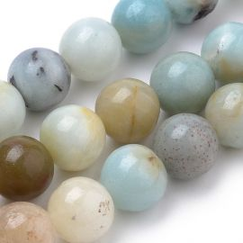Natural Amazonite beads 8.5 mm 1 thread