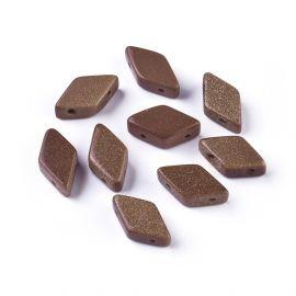 Sintetiniai Saulės Akmens karoliukai 17-22x9-11 mm 1 vnt