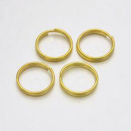 Кольца двойные латунные 10x1 мм 30 шт.