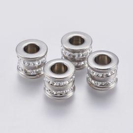 Nerūdijančio plieno 304 intarpas su akutėmis 12x10 mm 1 vnt.