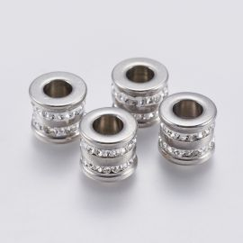 Stainless steel 304 insert with holes 12x10 mm 1 pc.