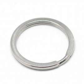 Брелоки из нержавеющей стали 304 для ожерелий для украшений Серый размер 30x2 мм