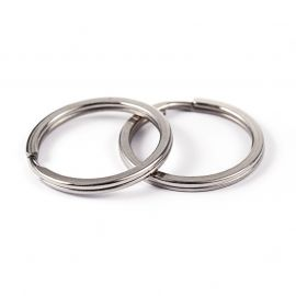 Stainless steel 304 key rings for necklaces for jewelry Gold color size 25x2 mm