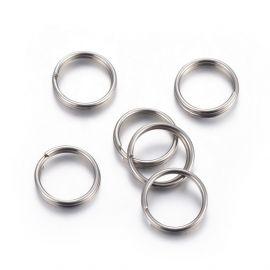 Двойные кольца из нержавеющей стали 304 10x1,6 мм 10 шт.