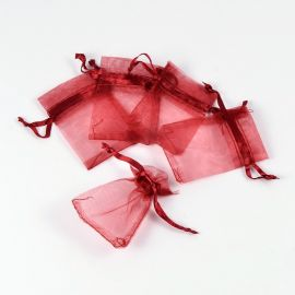 Organza bags 7x5 cm 10 pcs.