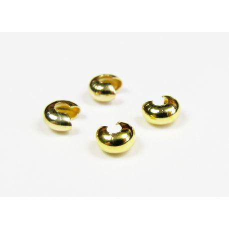 Completion detail, clip concealer, gold color 3 mm
