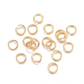 Одинарные кольца из нержавеющей стали 304 3x0,4 мм ~ 50 шт.