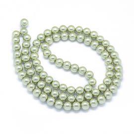 Glass beads 10 mm 1 thread