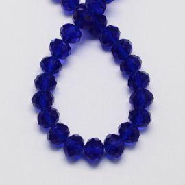 Glass beads 10x7 mm 1 thread