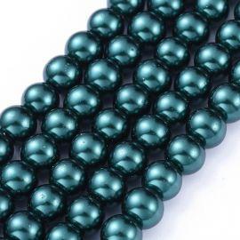 Glass beads 8 mm 1 thread