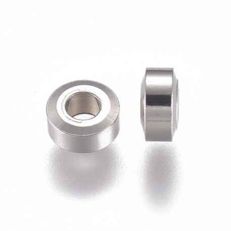 Nerūdijančio plieno 304 intarpas 4x2 mm ~20 vnt.