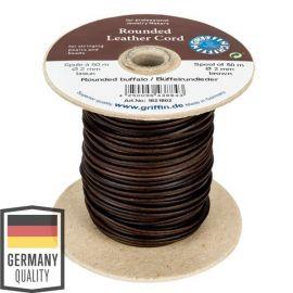 Genuine cowhide cord 2.00 mm 1 meter