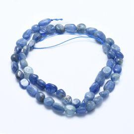 Natural Kyanite / Cyanite / Disthene beads 5-8 mm 1 thread