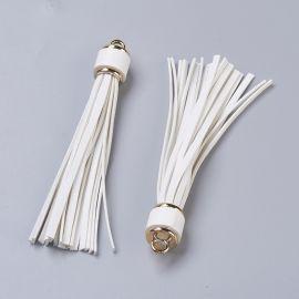 Suede tassels 110-115x15 mm 2 pcs.