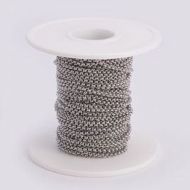 Stainless steel 304 chain 2 mm 1 mm ~ 10 m.