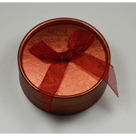 Dovanų dėžutė, kartoninė, raudonos spalvos 85x35mm , 1 vnt.