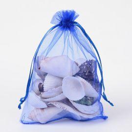 Organzos maišelis . Mėlynos spalvos dydis 18x13 cm rankdarbiams