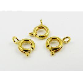 Necklace clasp 12x6 mm, 10 pcs.