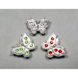 """Spacer """"Butterfly"""" 19x14 mm, 1 gab."""