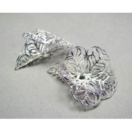 Openwork hat 28x24 mm, 10 pcs.