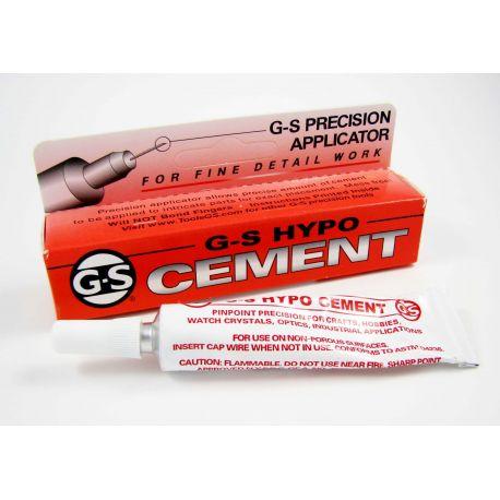 Glue G-S HYPO CEMENT 9 ml with needle needle for needlework