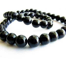 Cairo night beads 6 mm, 10 pcs.