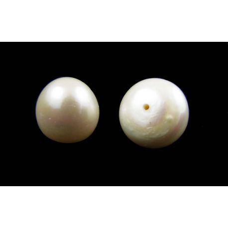 Poolpuuritud mageveepärlid 11-14 mm, suurus 1 paar