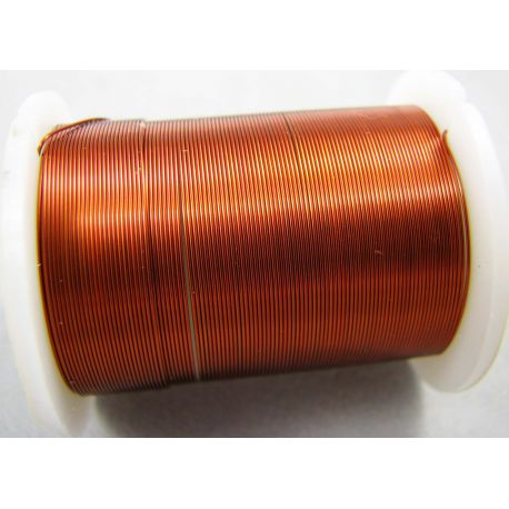 Copper wire, copper, 0.30 mm thick 10 meters