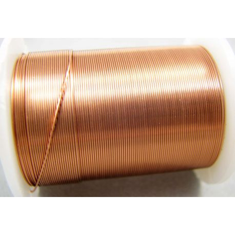 Copper wire, light copper, 0.30 mm thick 10 meters