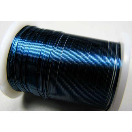 Varinė vielutė, mėlynos spalvos, 0.30 mm storio 10 metrų