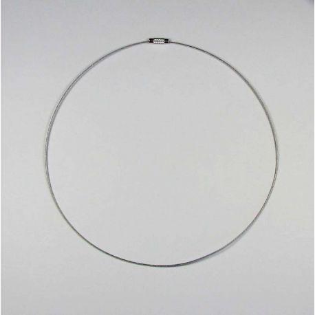 Juvelyrinis troselis tamsios sidabro spalvos, 1.00 mm , 1 vnt