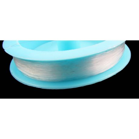 Bead cleanse, clear 0.40 mm thick, 1 time