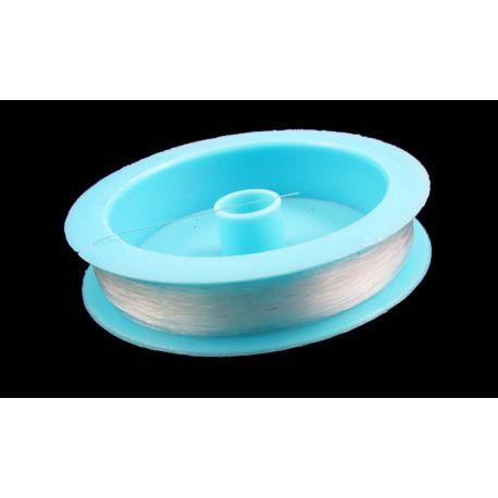Pērles tīra, caurspīdīga 0,40 mm bieza, 100 gadus