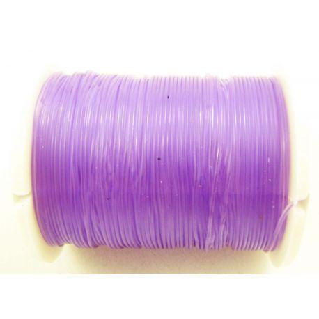 Elastīga gumijas violeta 0,60 mm bieza 1 metrs