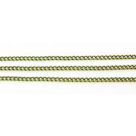 Chain 2x1.5 mm 10 cm
