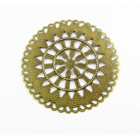 Openwork plate for jewelry production 55 mm