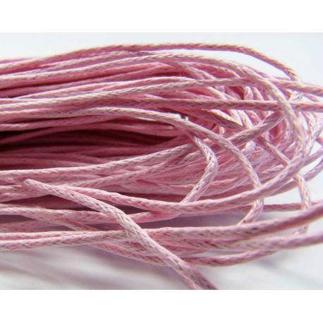 Vaska kokvilnas aukla, gaiši rozā 1,00 mm