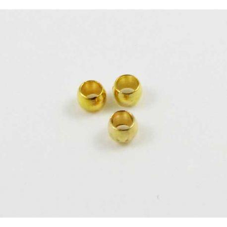 Viimistlusosa, kuldklamber 2 mm 100 tk.