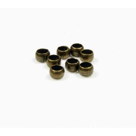 Apdares daļa, bronzas saspraude 2 mm 100 gab.