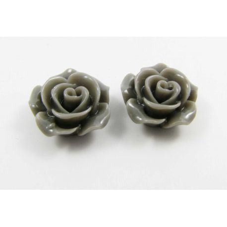"""Kama """"Rožytė"""" for the manufacture of jewelry in gray 14x6 mm"""