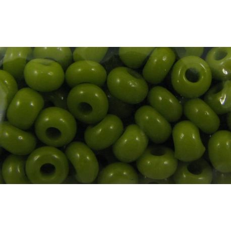 Preciosa Seed Beads (53430) moss color 50 g
