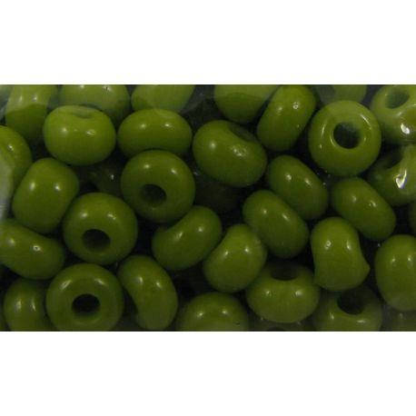 Preciosa sēklu krelles (53430) sūnu krāsa 50 g