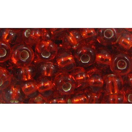 Preciosa Seed Beads (97050) red 50 g