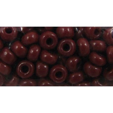 Preciosa biseris (93300) tamsiai raudonos spalvos 50 g
