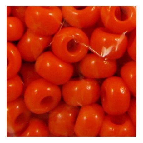 Preciosa biseris (93140) ryškiai oranžinės spalvos 50 g