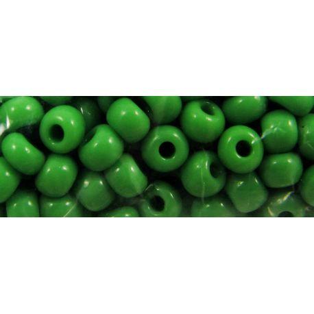 Preciosa biseris (53230) ryškiai žalios spalvos 50 g